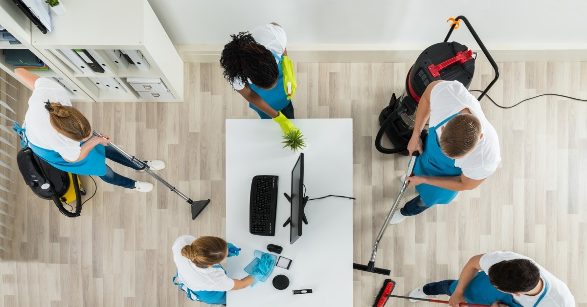 Tips for Commercial Cleaning - Metro Detroit Janitorial Company - Augie's Building Services - banner4-something