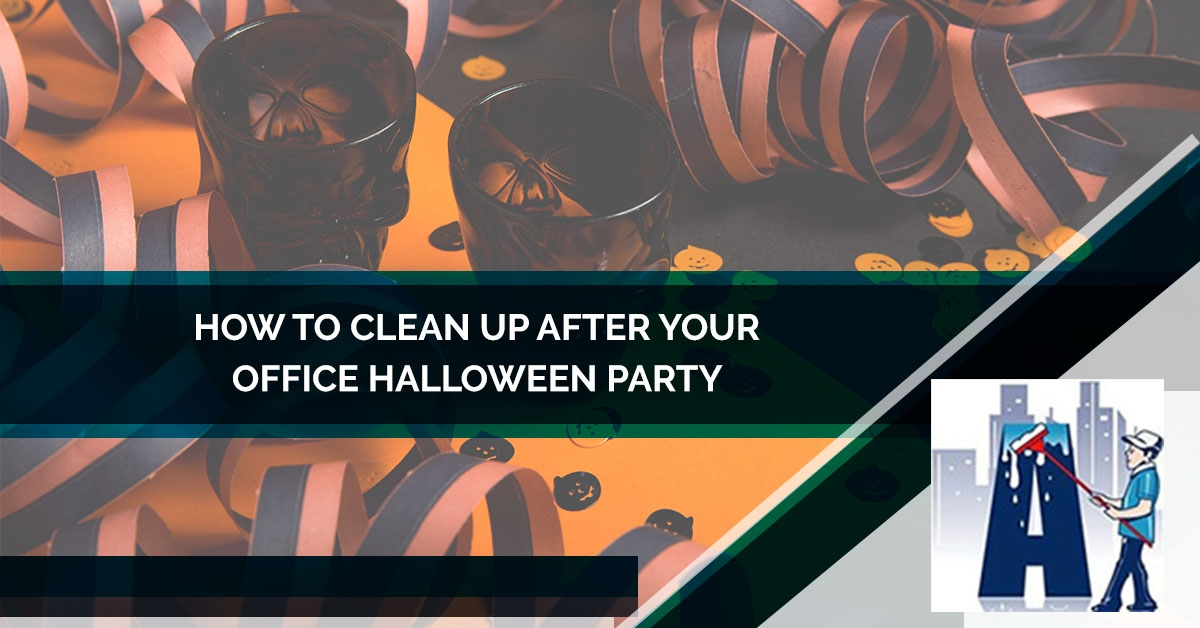 How To Clean Up After Your Office Halloween Party - Blog and News for Augie's Building Services - 4-5b928b4976cdd